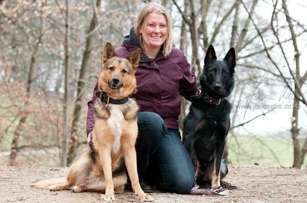 Chris Deschl mit Hunden